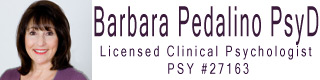 Dr. Barbara Pedalino | Licensed Clinical Psychologist #27163
