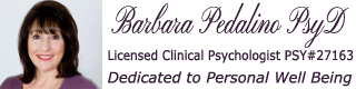 Dr. Barbara Pedalino | Licensed Clinical Psychologist #27163 Logo